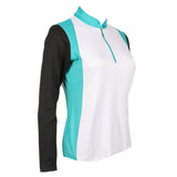 Vita Long Sleeve Colorblock Polo