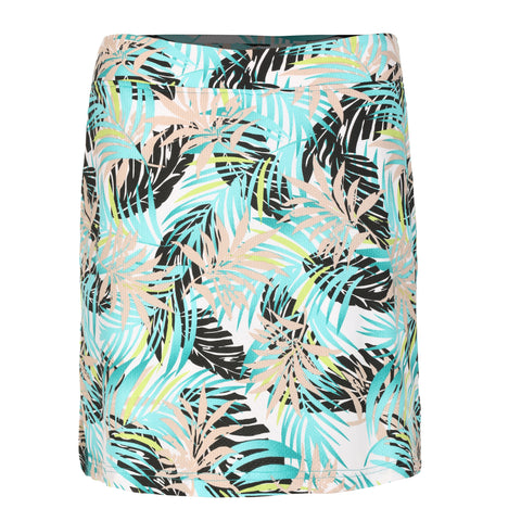 "Halah ""Haley Cool"" Pull On Print Skirt"