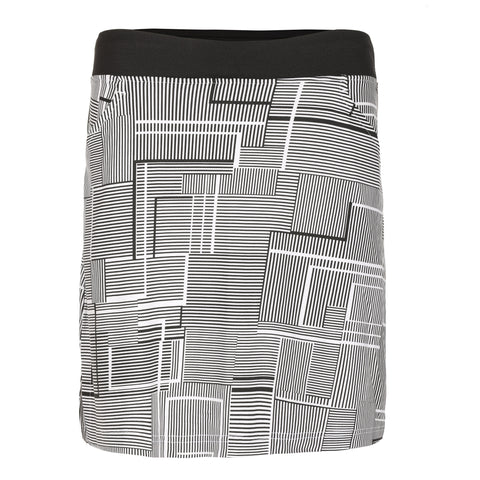 "Linney ""Haley Cool"" Pull On Print Skirt"