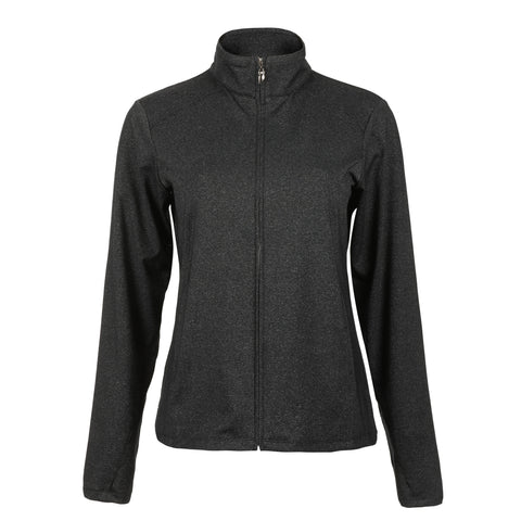 Tess Full Zip Heathered Jacket