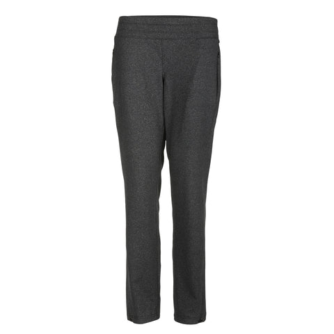Tess Pull On Heathered Pant With Pockets