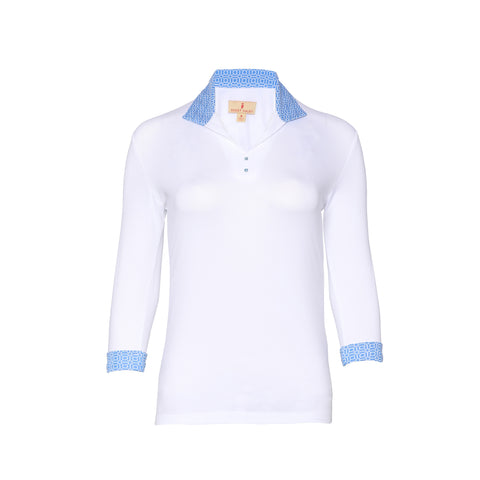 Linda Long Sleeve Polo