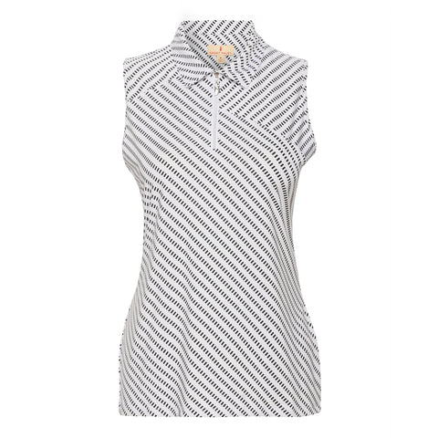 Sylvie Sleeveless Polo