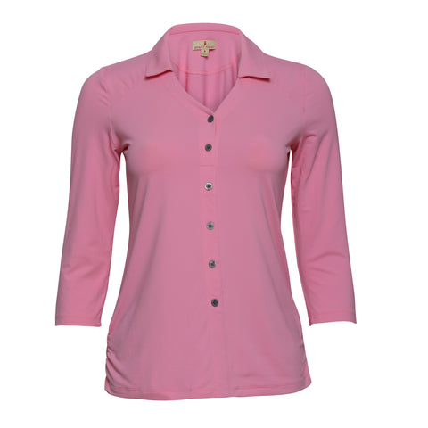 Lara 3/4 Sleeve Polo