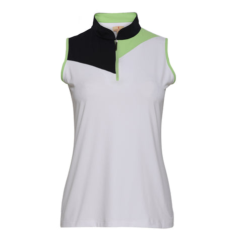 Ziggy Sleeveless Polo