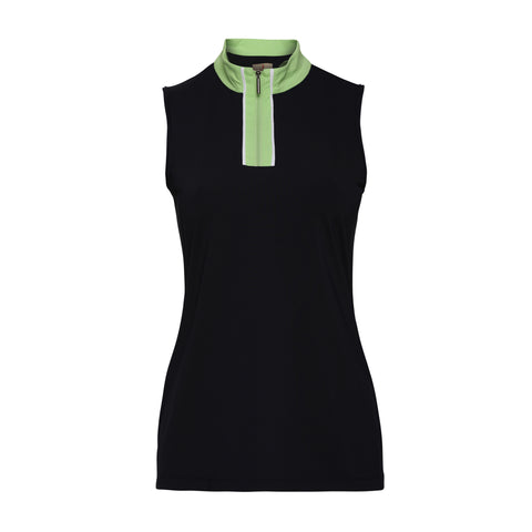 Beth Sleeveless Polo