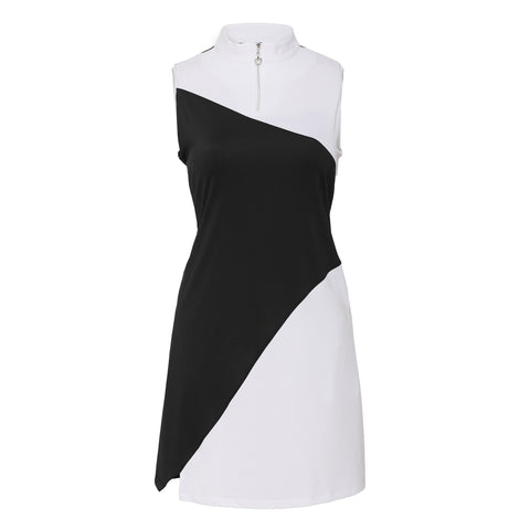 Domino Sleeveless Dress