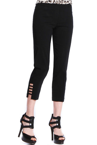 Crop with Ladder Stp - Black
