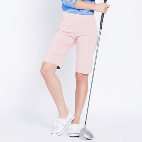 Slimsation Golf Walking Short - Blush Pink