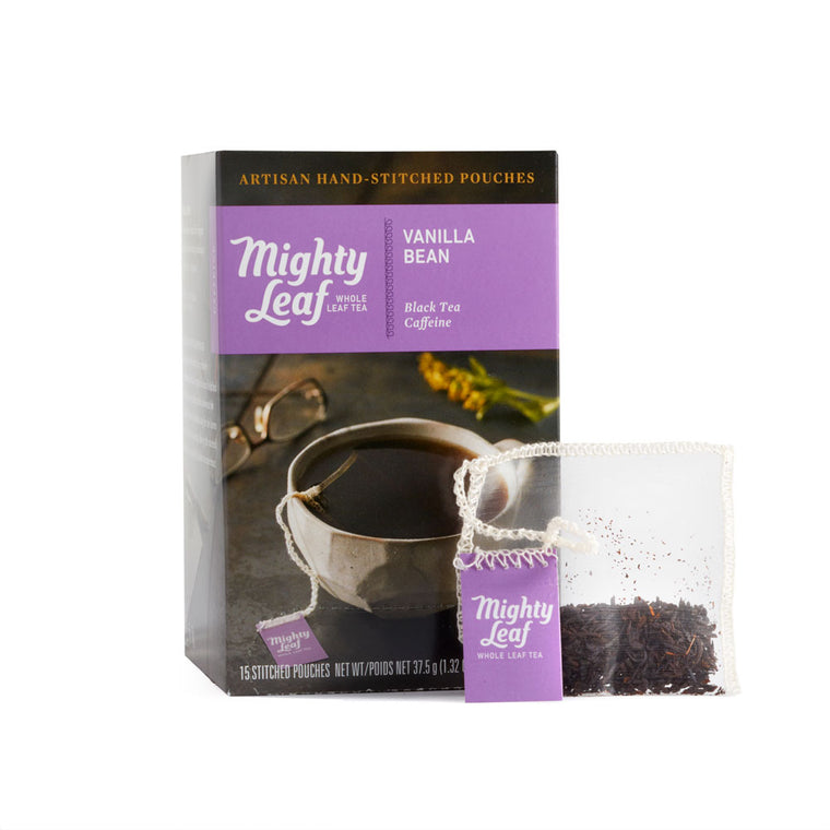 Vanilla Bean Tea 15 Pouch Box