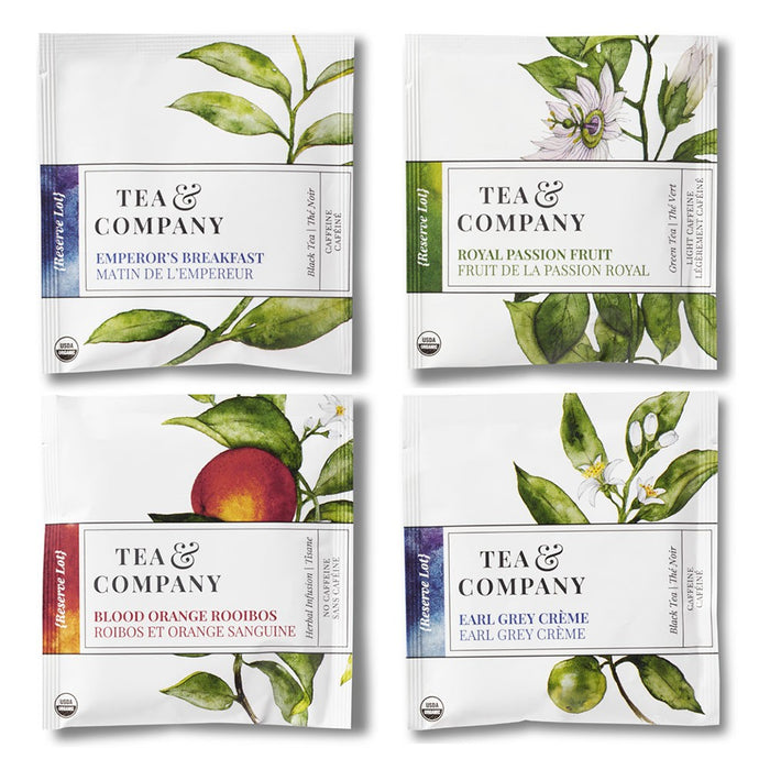 Tea & Company 16-Ct. Organic Collection