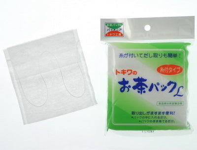 Tea bags for loose leaf tea, Teapot sized with string (size 10.5cm x 11cm)
