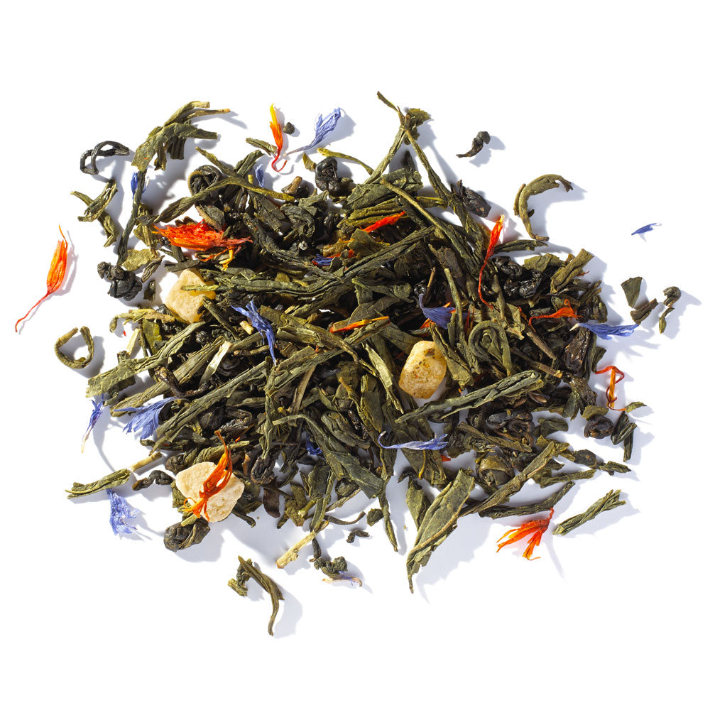 Green Tea Tropical - 4 ounces loose