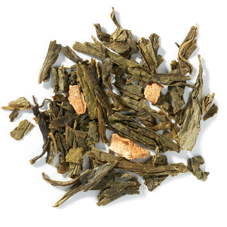 Cherry Lemon Green Tea - 4 ounces loose