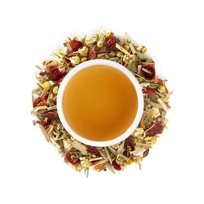 Organic Chamomile Yuzu Loose Leaf Tea - 4 ounces loose