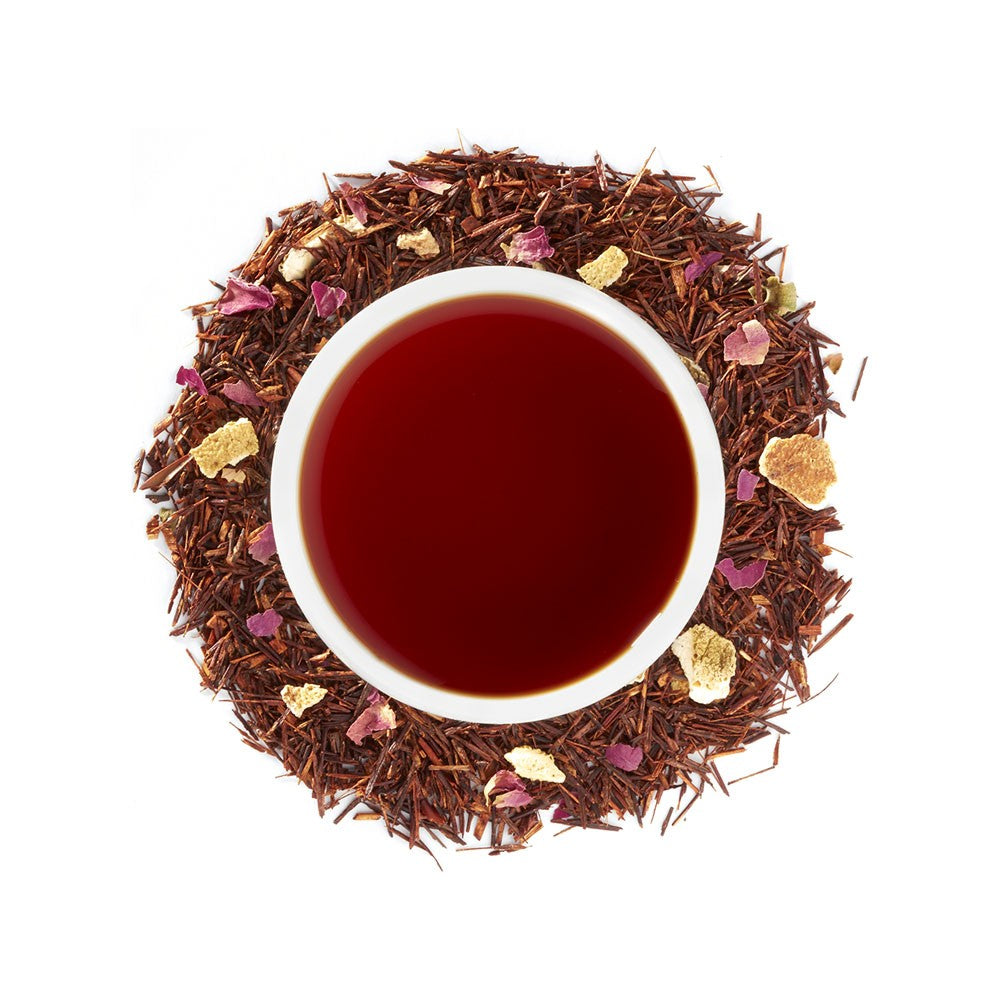 Organic Blood Orange Rooibos 4oz Loose Leaf Tea