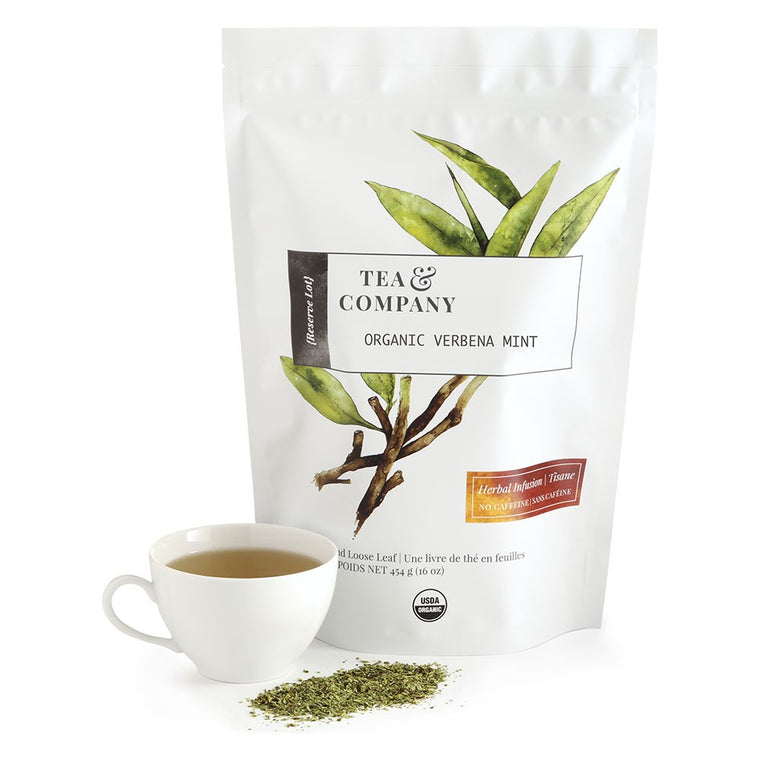 Organic Verbena Mint 4oz. Loose Leaf Tea