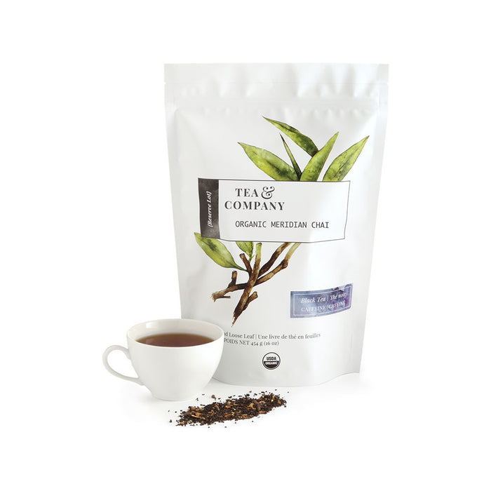 Organic Meridian Chai 4oz. Loose Leaf Tea