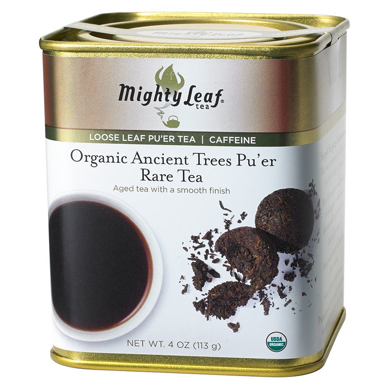 Ancient Trees Pu-erh Tea 4ozs loose - mini-tin