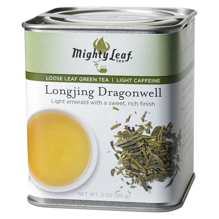 Longjing Dragonwell Loose Leaf Tin, 3oz