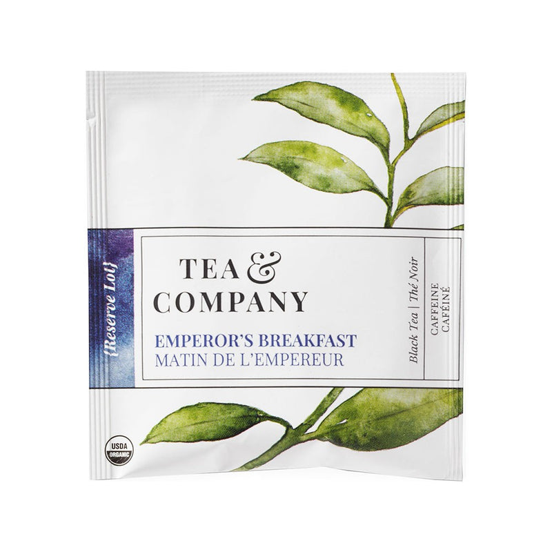 Organic Emperor's Breakfast 100-Ct. Tea Bags