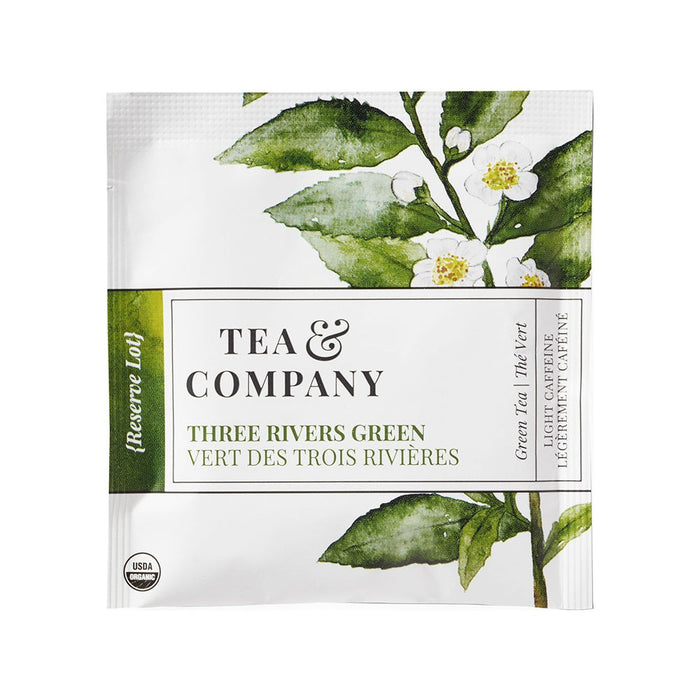 Organic Three Rivers Green 100-Ct. Tea Bags
