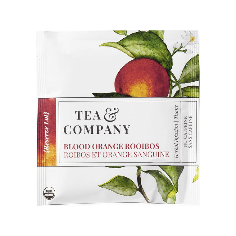 Organic Blood Orange Rooibos 100-Ct. Tea Bags