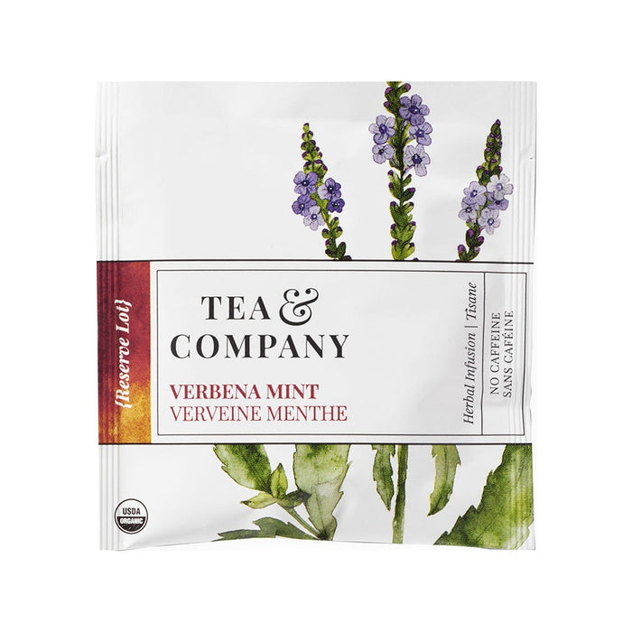 Organic Verbena Mint 100-Ct. Tea Bags