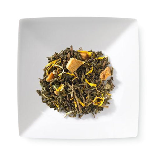 Mango Green Decaf Tea - 4 ounces loose