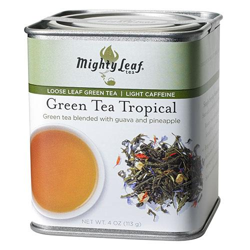 Green Tea Tropical Loose Leaf Tin, 4oz