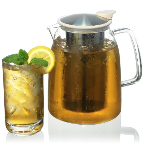 Mist Iced Tea Jug with Basket infuser 68oz
