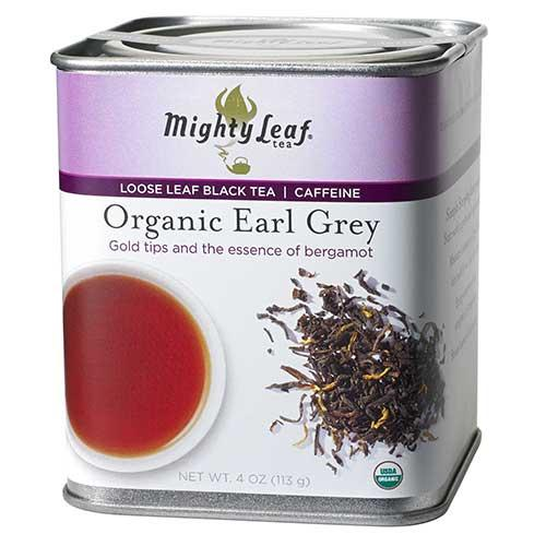 Organic Earl Grey Loose Leaf Tin, 4oz