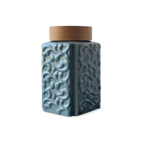 Tryeh Ceramic Tea Canister Tall