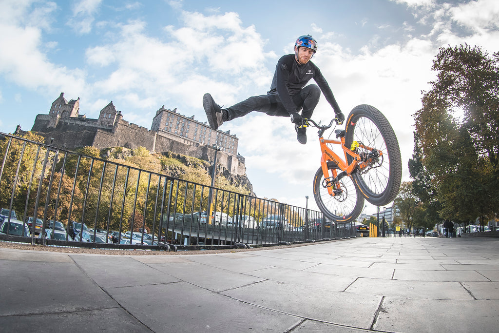Battle It Out Trick For Both Onboard Our All New Stamp 7 MacAskill Edition Pedal Who Will Stomp The Most Tricks And Take Home Win