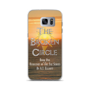 Official Broken Circle Book Cover Samsung Case
