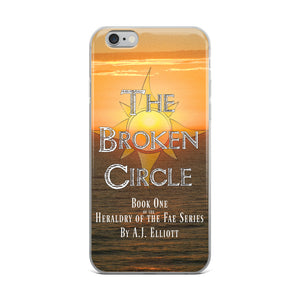 Official Broken Circle Book Cover iPhone Case