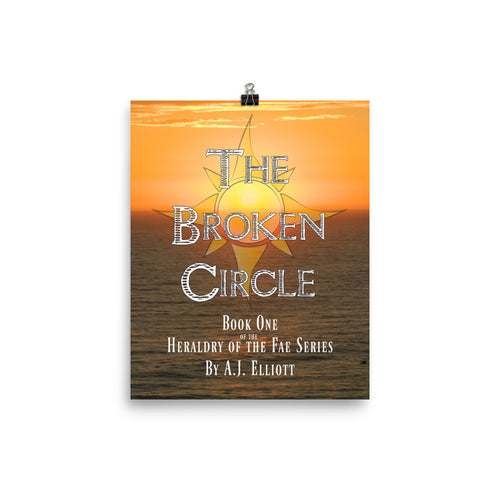 Official Broken Circle Cover Art Photo paper poster