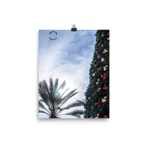 Official Short Story Bound over Time Christmas Art Photo paper poster