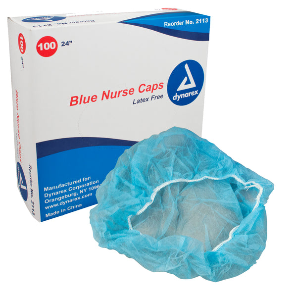 Dynarex Nurse Caps (Pack of 100)