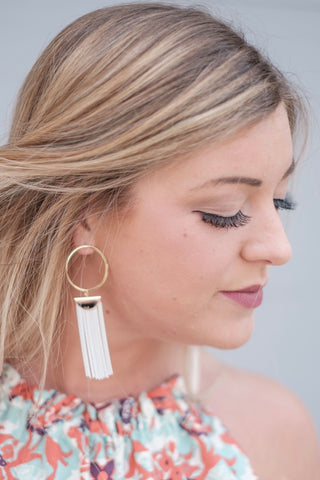 Riley Tassel Earrings