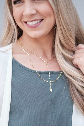 Love Opal Layering Necklace
