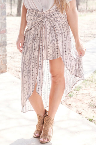 Temara Wrap Skirt
