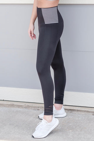 Striped Seamless Leggings