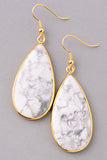 Ivory Stone Earrings