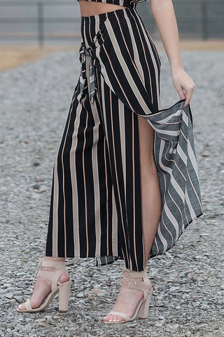 Sun & Sand Striped Pants