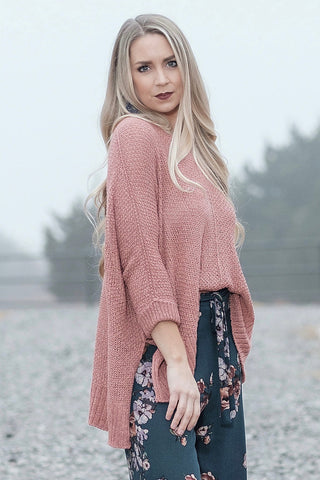 Ginger Slouchy Sweater