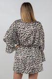 Crazy for Cheetah Mini Dress