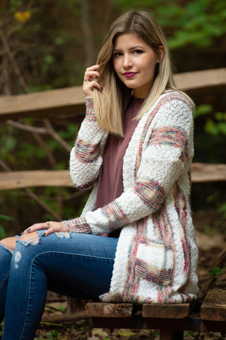 Southwest Striped Cardigan