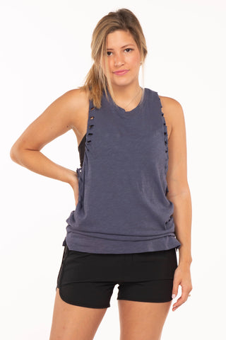 Cutout Racer Top