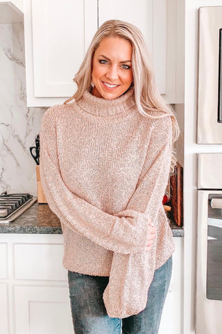 Rose Gold Sweater